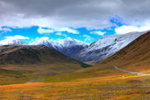 Altai mountains. Beautiful highland landscape — Stock Photo