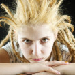 Strange hairdo — Stock Photo #3069662
