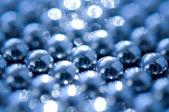 Shiny beads abstract background — Stock Photo