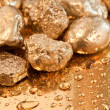 Gold nuggets — Foto Stock