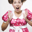 Surprised woman — Stock Photo #3476353
