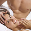 Happy foreplay — Stock Photo