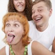 Bizarre family — Stock Photo #3820402