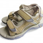 New woman`s sport sandals — Stock Photo