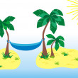 Tropical paradize — Stock Photo