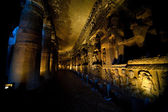 Interior of an ancient cave temple — Stock Photo