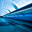 Train on underground platform — Stock Photo #2775322