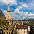 City view from St. Stephan cathedral — Stock Photo #3550031