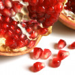 Open pomegranate with seeds — Stock Photo