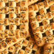 Close-up of cookies with poppy-seed - ストック写真