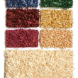 Samples of collection carpet — Stock Photo #3191298