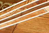 Kolekcja naturalne linoleum — Zdjęcie stockowe