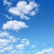 Blue sky with clouds — Stock Photo #3497084