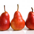 Stock Photo: Three pears