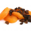 Dried apricots and raisins — Stock Photo #3631147