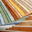 Samples of collection linoleum — Stock Photo #3867651
