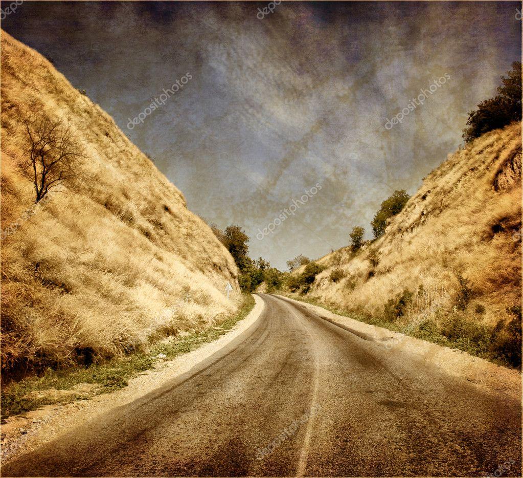 Vintage landscape — Stock Photo © nikascorpionka #3148253