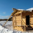 Stock Photo: Construction of rural house