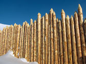 Wooden paling — Stock Photo