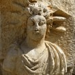 Ancient bas-relief in the amphitheater at Myra, Turkey — Foto de Stock