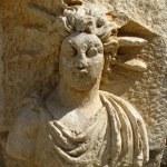 マイラは、トルコで円形劇場の古代の浮き彫り — ストック写真