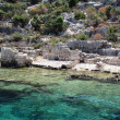 Stock Photo: Sunken City Kekova, Antalya, Turkey