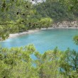 Cleopatra bay in Turkey, near Kemer — Stock Photo