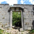 Ruins of a Roman temple in Olympos, Turkey — Stock Photo