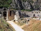 Ancient amphitheater, Myra, Turkey — Stock Photo