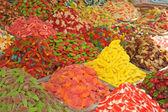 Candies market — Stock Photo