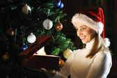 Christmas present — Stok fotoğraf
