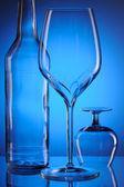 Glass still life — Stock Photo