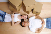 Moving day — Foto de Stock