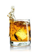 Scotch splash — Stock Photo