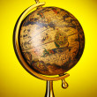 Stock Photo: Old globe