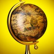 Old globe - Stock Photo
