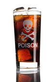 Nezdravé nápoj — Stock fotografie