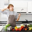 What am I cooking? — Stock Photo