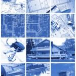 Architecture collage — Stock Photo