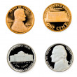 Coins collection - Stock Photo