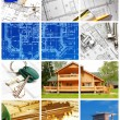 Architecture collage — Stockfoto