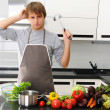 What am I cooking? - Stock Photo