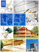 Collage de arquitectura — Foto de Stock