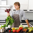 Man in kitchen — Stock Photo #3898757