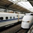 Stock Photo: Bullet train
