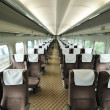 Train car seat - Stock Photo