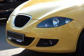 New yellow auto — Stock Photo