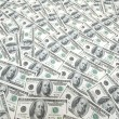 Background with many dollars — Stock Photo #2694577
