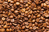 Close up of freshly roasted coffee beans — Stock Photo