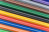 Close up of pencils of various colours — Stock Photo
